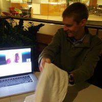 Skype Celebration with Steve and Zach